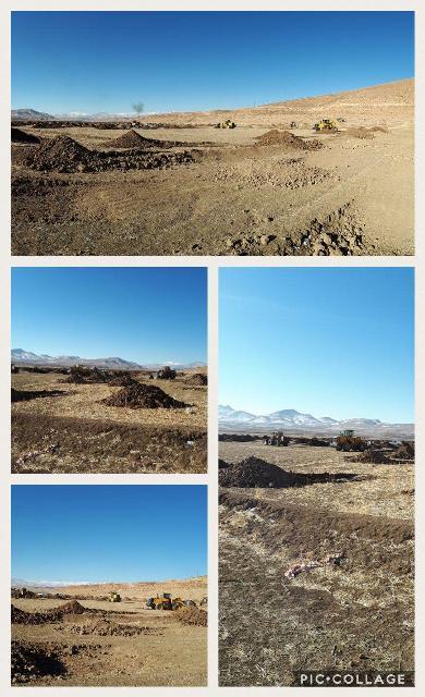 8هکتار از اراضی دریاچه سد زاینده رود رفع تصرف شد
