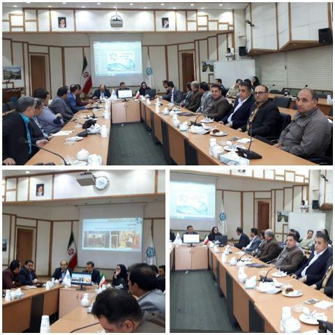 اعضای شورای حفاظت از منابع آب کاشان از شهرک علمی و تحقیقاتی اصفهان بازدید نمودند