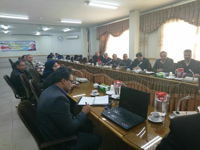 جلسه شورای حفاظت از منابع آب لنجان برگزار شد